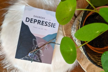 Dagboek van mijn depressie - voorkant