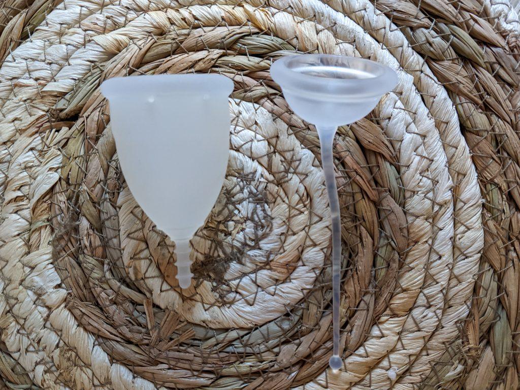 menstruatie cup conceptie cup