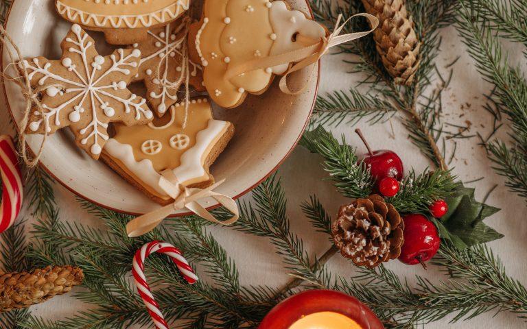 Kerstversiering maken.